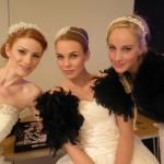 Gorgeous models wearing Ariane Poole make-up
