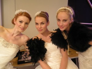 Gorgeous models wearing Ariane Poole make-up