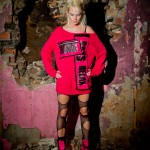 model and wow pink jumper