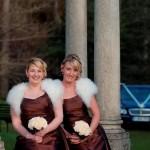 Bridesmaids - make-up wearing Ariane Poole make-up